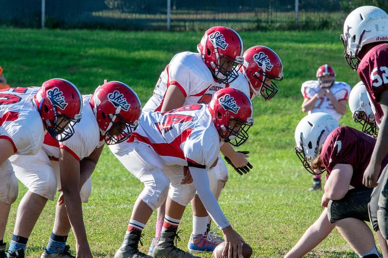 The Edge At Kutztown >> Fred Backhaus Photography | Neshaminy Redskins Freshman Football vs Abington 2018